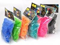 Набор резинок к плетения браслетов (600 шт)