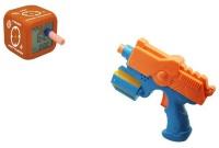 Будильник-пистолет из пулями